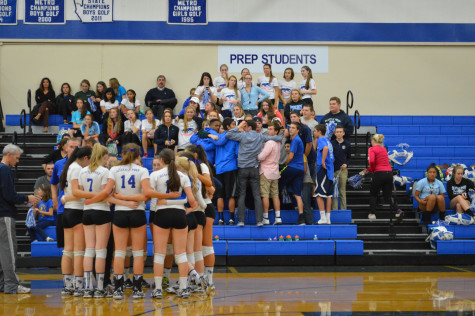 Panthers Serve their way into State
