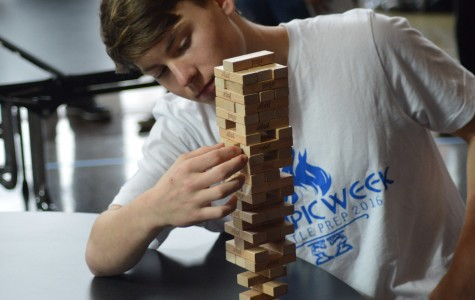 Bellarmine Topples Competition in Jenga