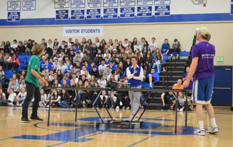 Brennan Nets Win Over Mitchell in Ping-Pong
