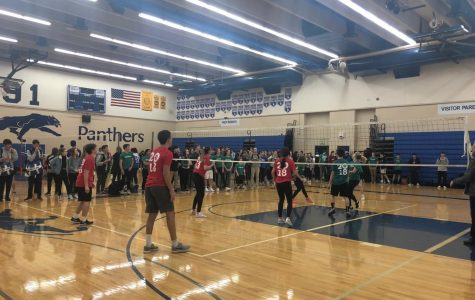 Juniors and Seniors Battle for Olympic Week Volleyball Title