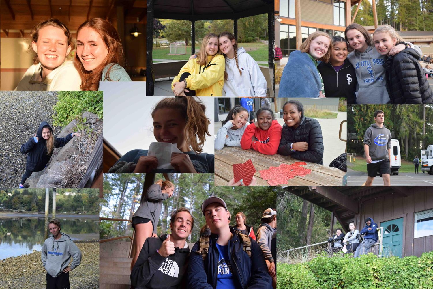 Senior pilgrimage brought students together on a 10 mile hike.
