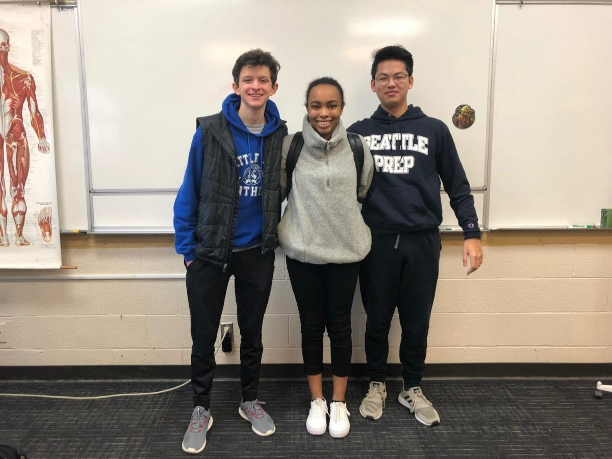 Diversity Club Leaders pose at a recent meeting. Diversity Clubs such as LatinX, Black Student Union, and Asian American Association give students a chance to find a smaller community within the school.