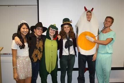 Prep students dress up for Halloween