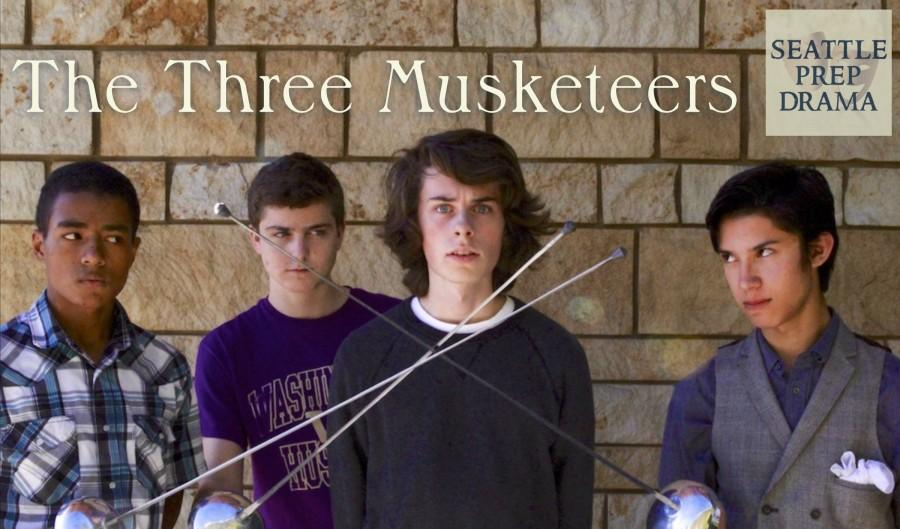 Seattle Prep Drama presents the Three Musketeers opening on November 5