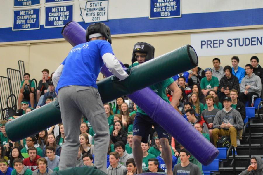Seniors Rise Above in Jousting