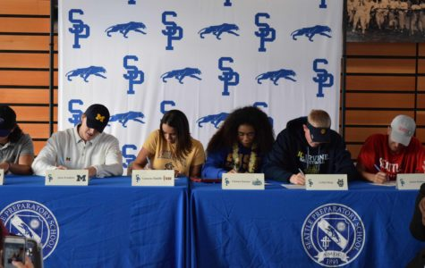 Six Panther Athletes Sign Letters of Intent