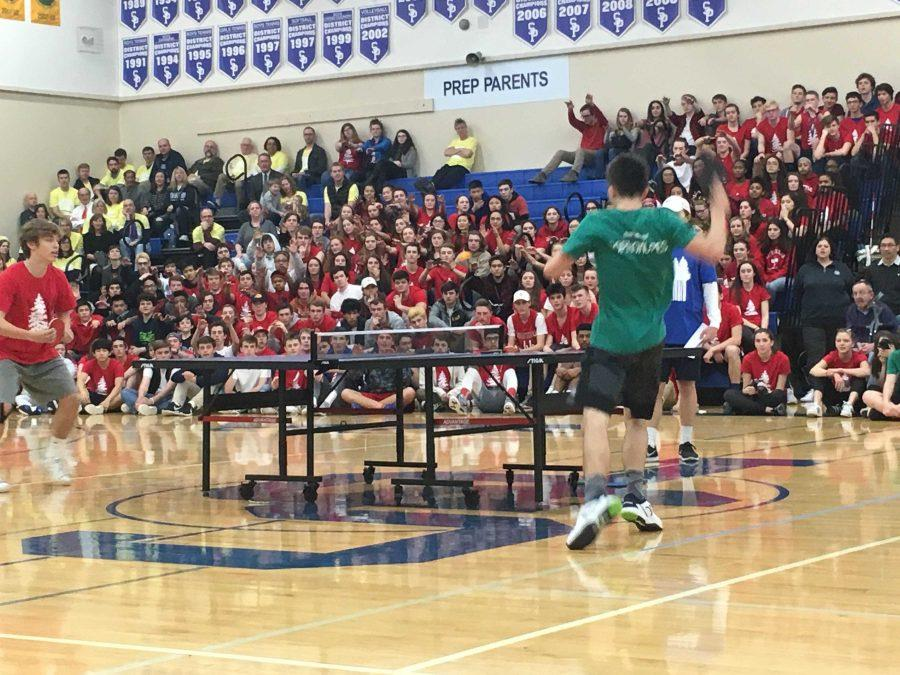 Hopkins Collegio emerged victorious in the finals of Olympic Week ping-pong.