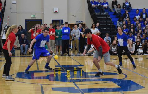 Seniors Victorious in Thrilling Spike Ball Finale