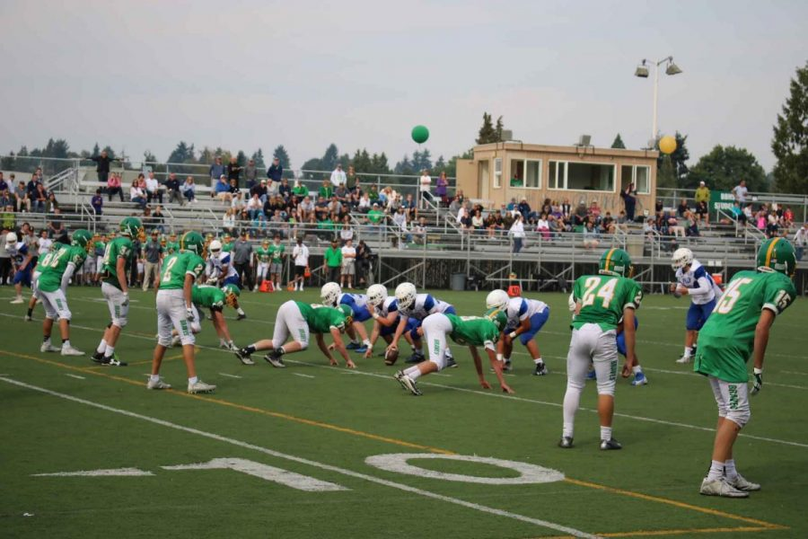 Frosh Get First Taste of High School Sports