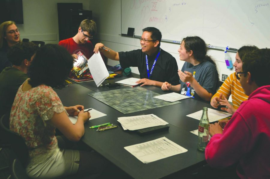 Seattle Prep Dungeons and Dragons Club meets on May 10th. D&D Club gives students a chance to play the popular RPG, but also to make friends and bond between grade levels.