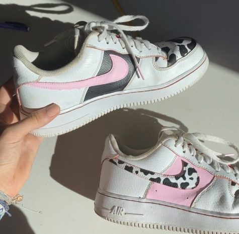 Customizing Kicks: Senior Chloë O'Meara Paints Shoes