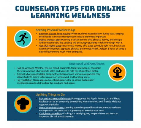 Counselor Tips for Online Learning Wellness