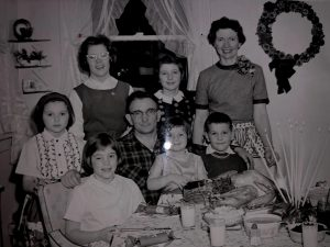 Ms. Fields in the center, first row