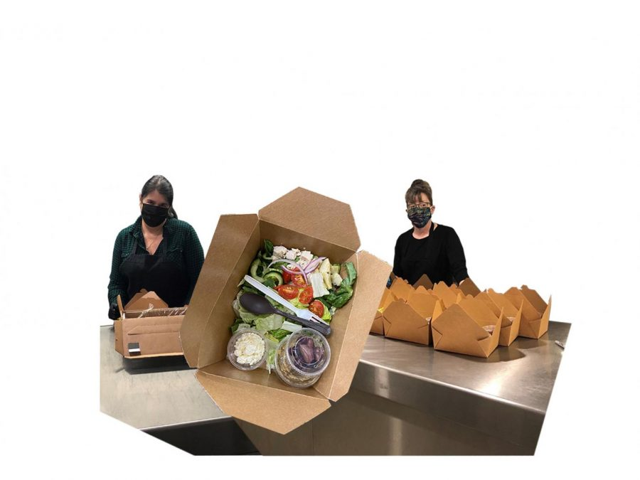 The Staff of the Smith Cafe have switched to a boxed lunch program during the COVID-19 pandemic.