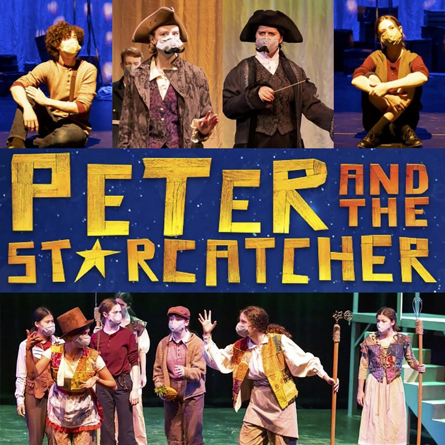 The Prep Drama production of Peter and the Starcatcher runs from May 7-16, streaming online.
